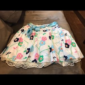 Justice girls skirt size 8